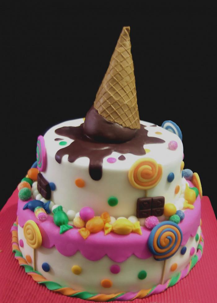 Originale recette gateau facile et rapide gateau pour enfant gateau facile et original cornet gâteau sucré adorable