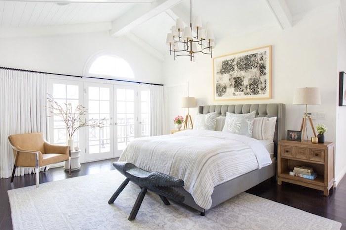 Chambre bleu canard couleur de peinture pour chambre idée déco chambre mignonne