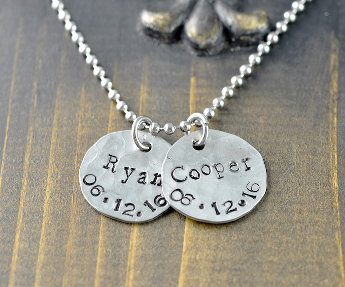 Idée cadeau homme forfait cadeau original idée de cadeau pour homme porter des bijoux homme personnalisé collier