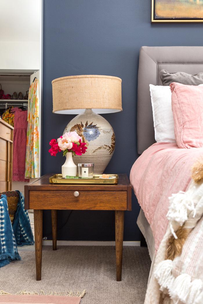 Couleur mur chambre bleu gris peinture mur chambre bonnes gammes de couleurs bleu canard et rose
