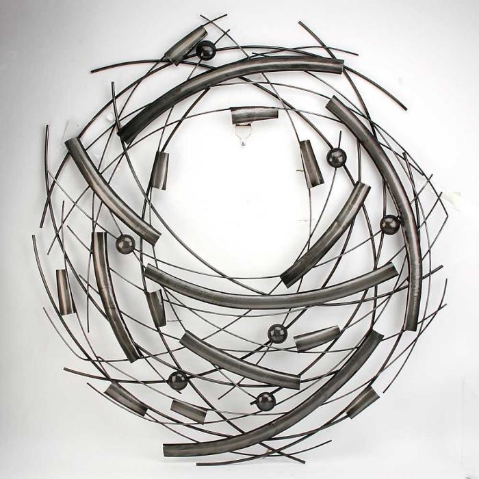 ▷ 1001 + idées pour une décoration murale en fer design métal