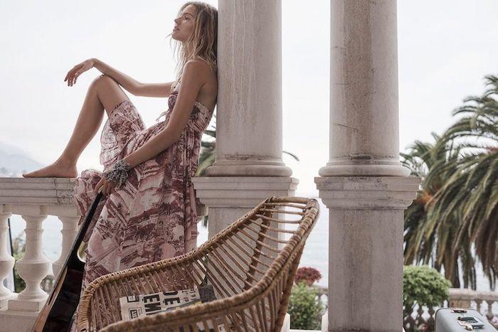 Robe longue ete femme robe longue été pas cher robe longue a fleur robe hippie chic dentelle