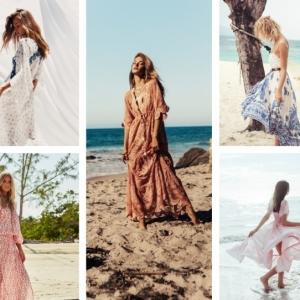 100 modèles de robe de plage longue pour habiller son corps dans l'esprit estival