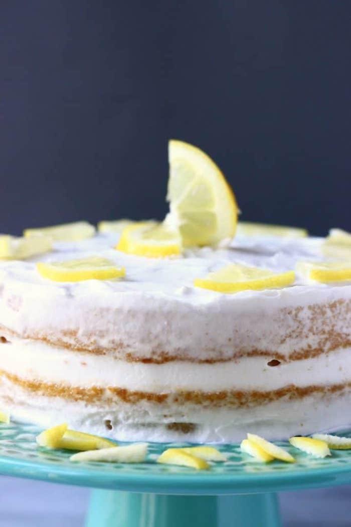 Dessert en citron facile et rapide gateau pour enfant chouettes gateaux enfant magnifique design simple