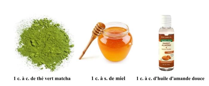 masque naturel visage pour soigner une peau sensible, masque visage aux ingrédients naturels, à effet anti-inflammatoire