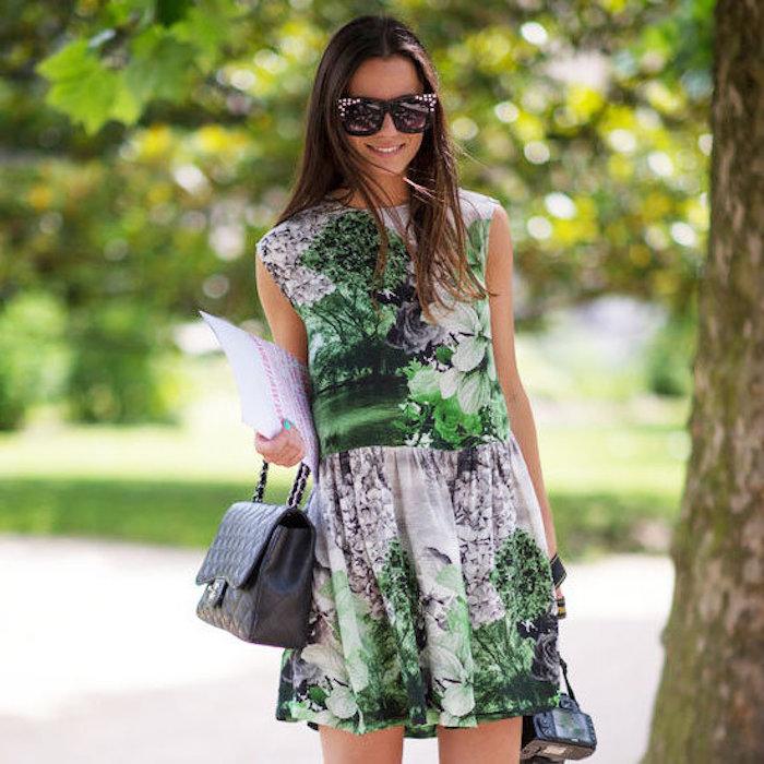 Robe droite fluide robe de plage longue comment s'habiller en été quand fait chaud adorable tenue chic d'été