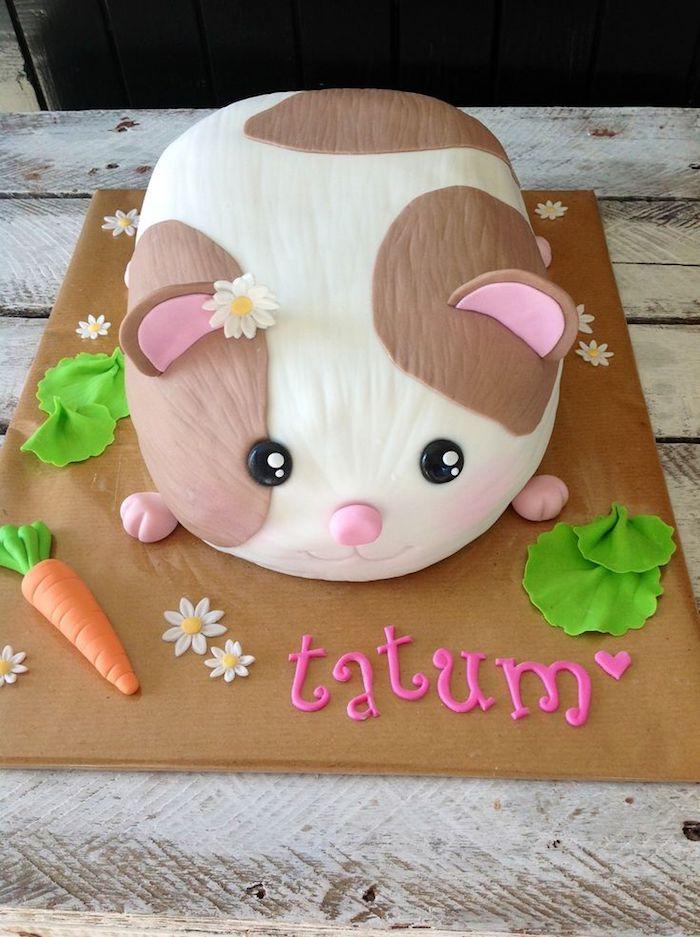 Gateau anniversaire enfant recette gateau anniversaire choisir le style dessert animal mignon