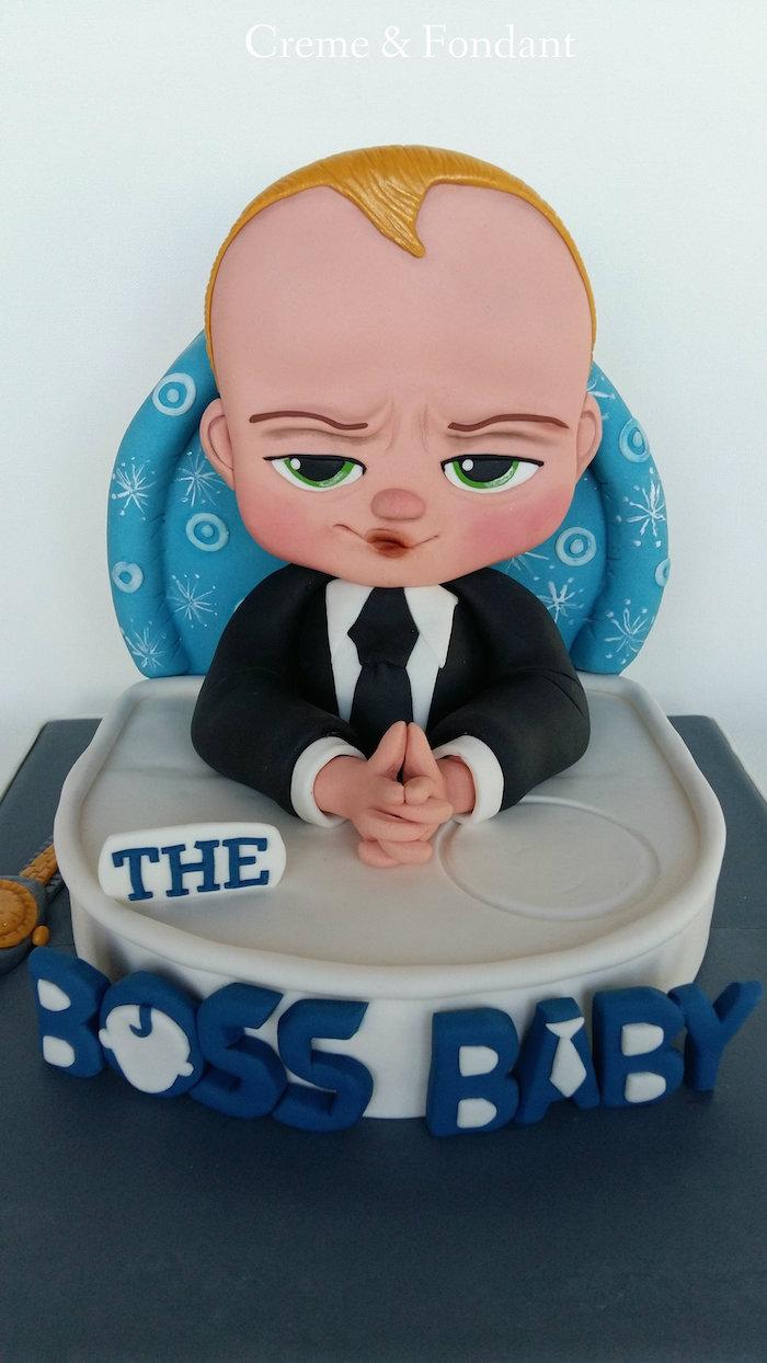 Cool idée gateau anniversaire original recette gateau anniversaire jolie décoration simple baby boss gateau