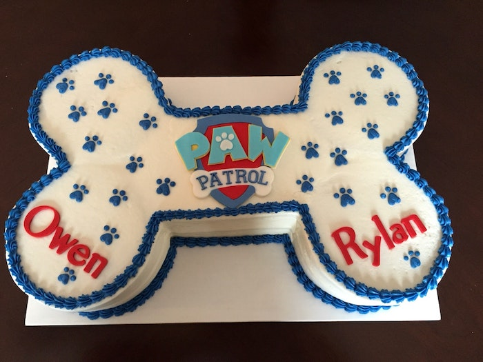 Gateau facile et original recette gateau anniversaire cake enfant simple et original paw patrol animation favori des petits