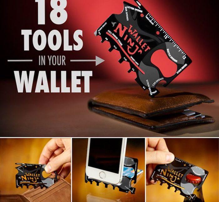Idée cadeau homme 30 ans quel cadeau pour homme surprise anniversaire wallet ninja cool cadeau