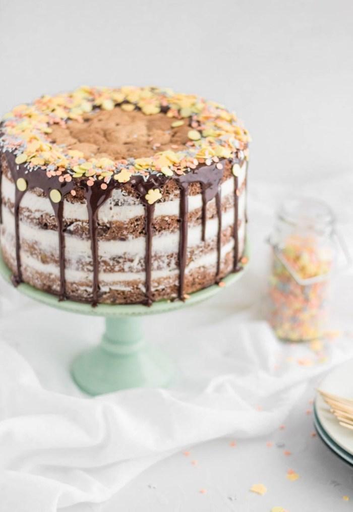 Gateau anniversaire 1 an gateau anniversaire fille mignonne idée gâteau pour enfant