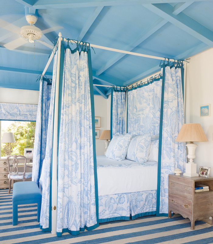 S'orienter pour les couleurs modernes chambre bleu gris chambre parentale océan thème bleur