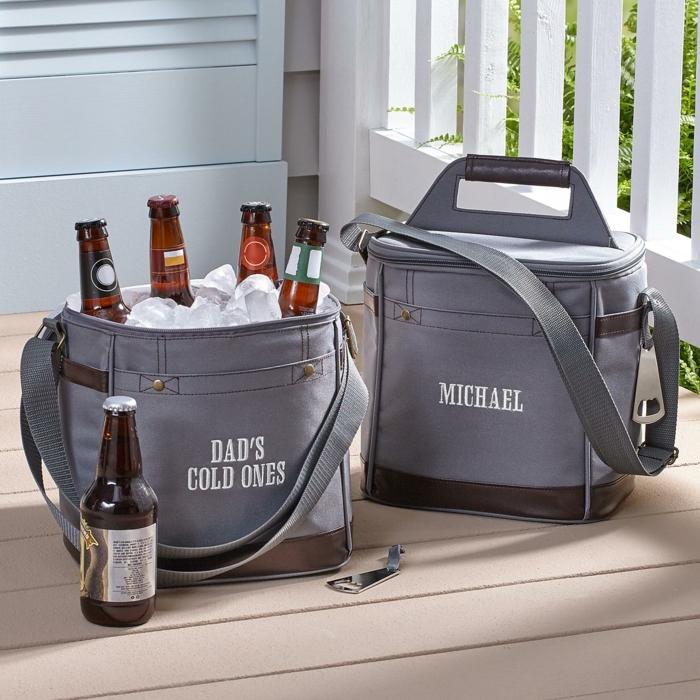 Choisir un cadeau pour homme idée cadeau personnalisé homme joyeuse occasion bière sac cooling