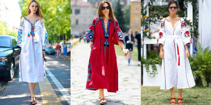 Comment porter la robe longue ete femme robe hippie chic dentelle simple et confortable