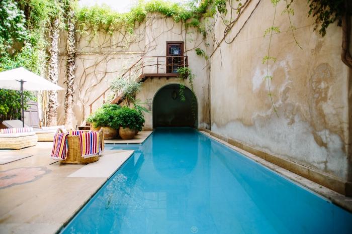 assurance habitation pour protéger a maison avec garantie piscine pour dommages, modèle de piscine rectangulaire