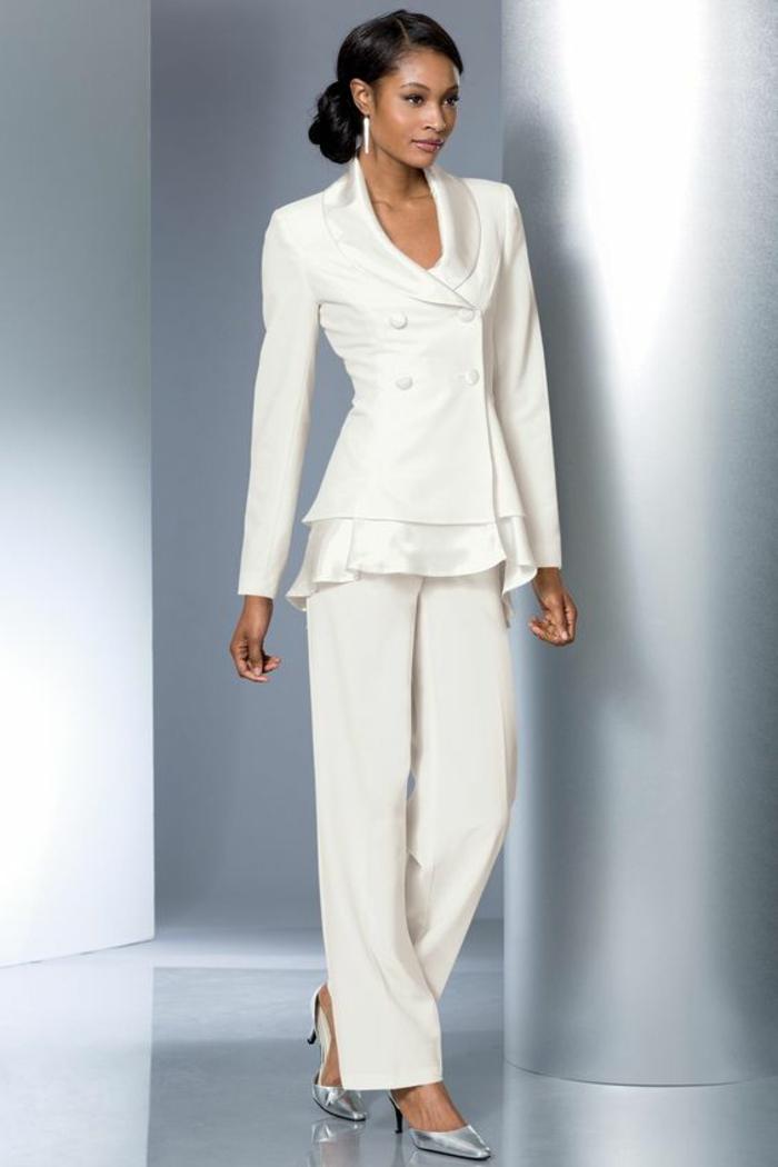 1001 id es pour un tailleur pantalon femme chic pour mariage tenue invit e mariage. Black Bedroom Furniture Sets. Home Design Ideas