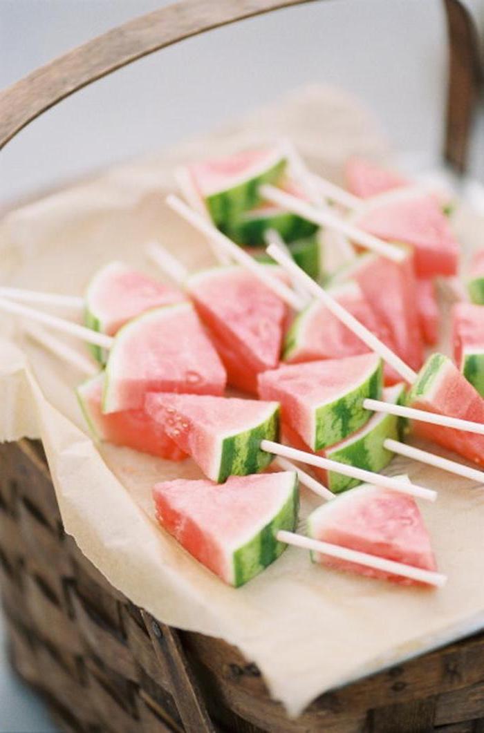 Glace vanille sans sorbetière recette glace maison chouette idée vegan glace pastèque au frigo