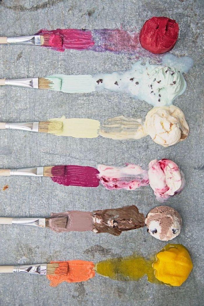 Recette glace maison recette glace maison sans colorant glace sans conservateur peinture avec de la glace