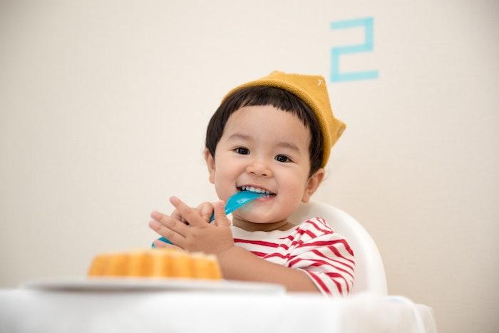 Gateau rapide gateau anniversaire facile gâteau pour enfant préparer un gateau bébé 2 ans