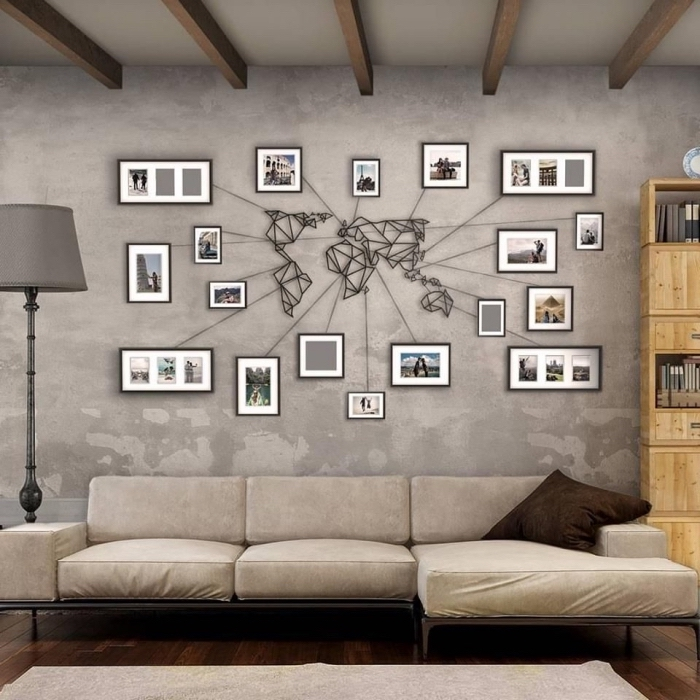 Magnifique Decoration Murale En Fer Design 68 Creations En