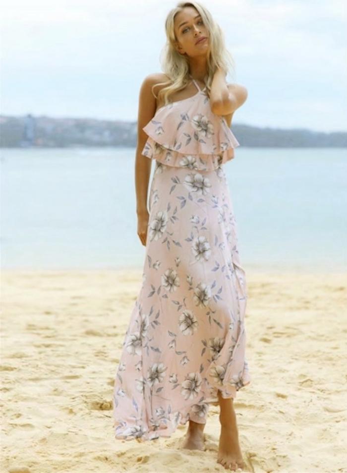 8460ff908ef Quelle est la plus belle robe boheme longue robe longue hippie chic plage  tenue mariage sur