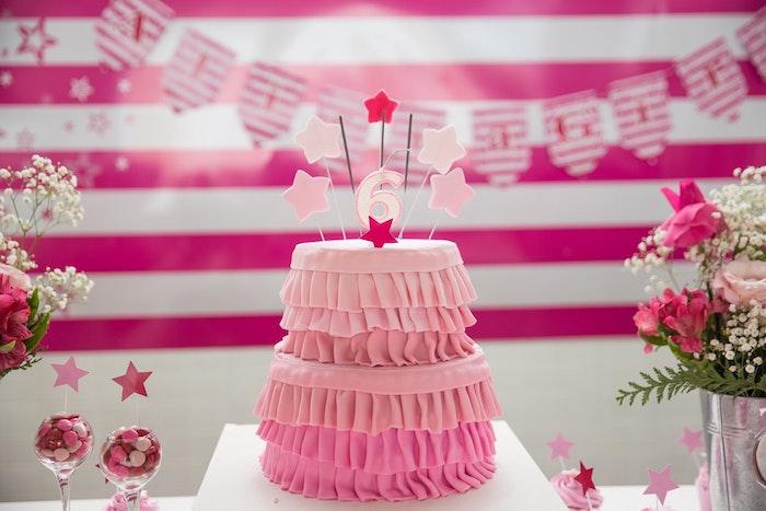 Recette gateau anniversaire gateau anniversaire facile cool idée design gateau rose
