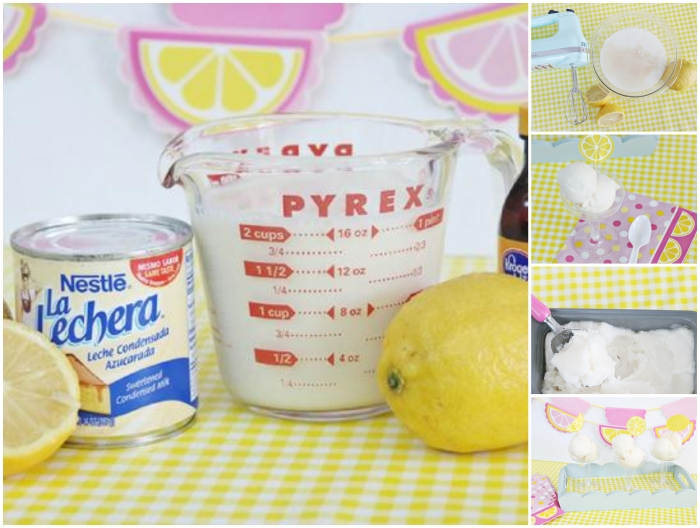 Recette glace fraise recette glace maison glace a la fraise sans sorbetière lait concentre et citron