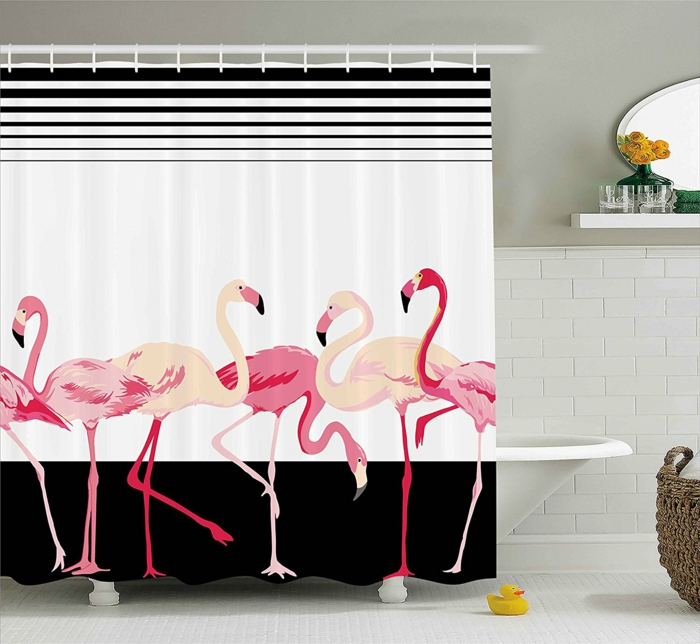 1001 id es pour une d co flamant rose mode et accessoires. Black Bedroom Furniture Sets. Home Design Ideas