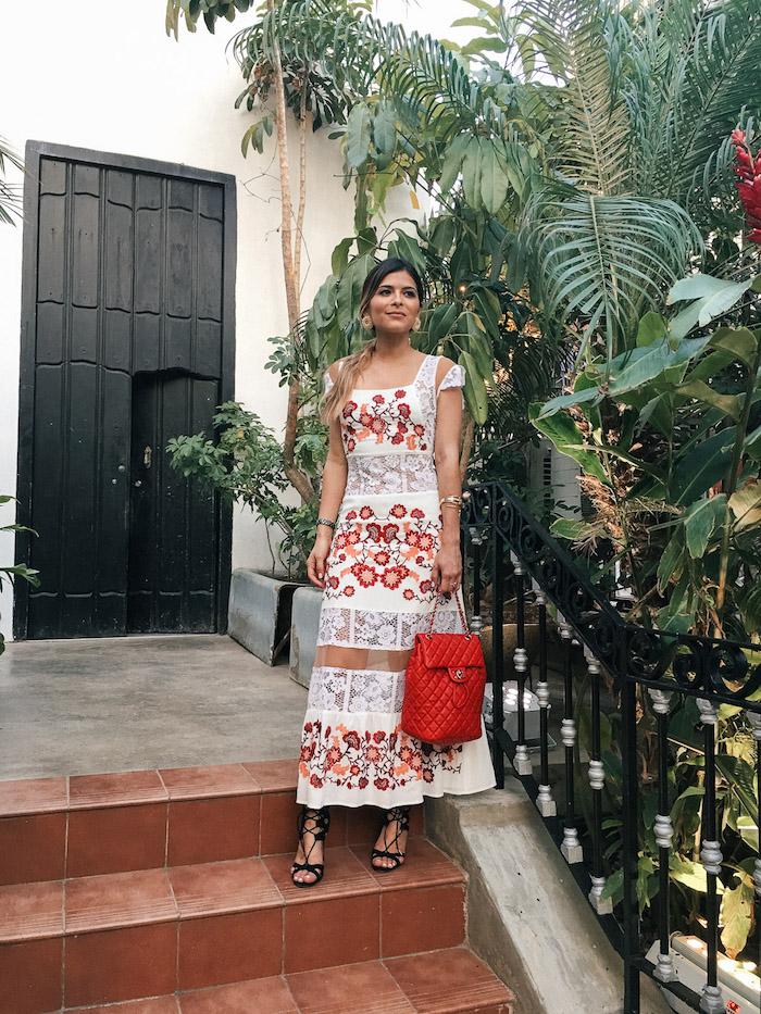 Style bohème chic robe boheme longue robe longue ete femme tenue bohème chic vacances à havana