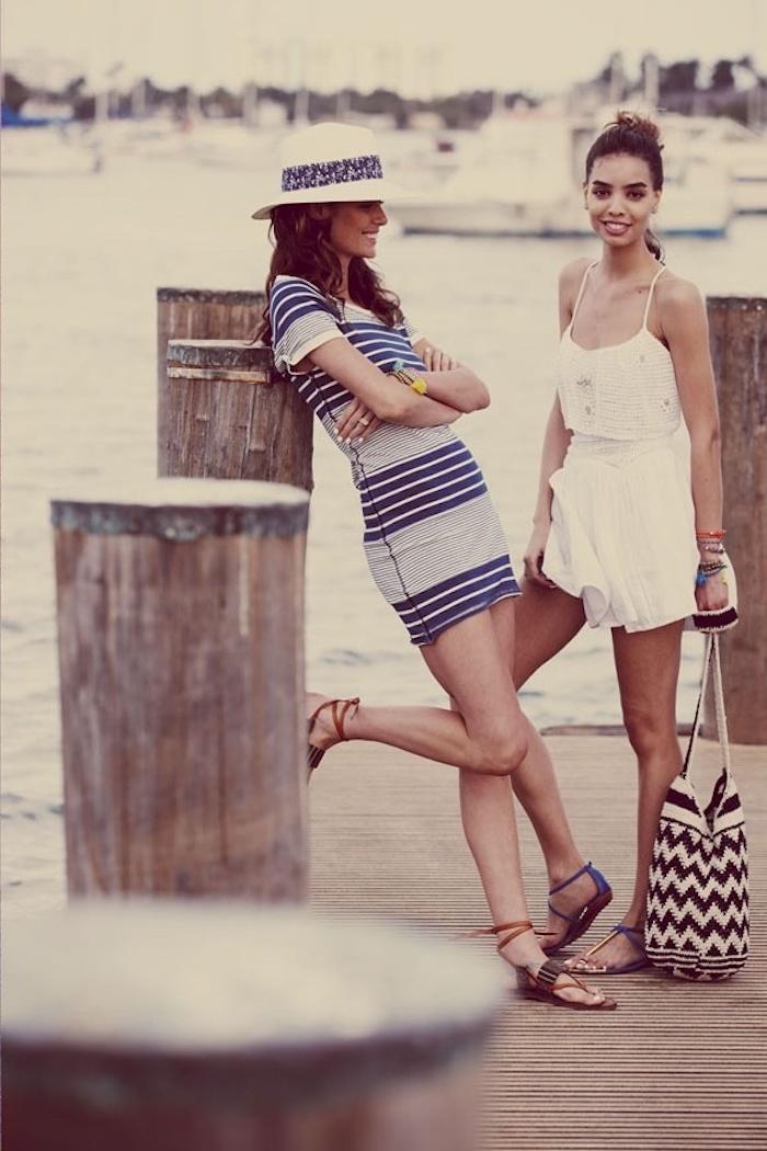 Choisir une robe droite fluide robe legere robe fluide courte cool tenue amies plage vacances tenue