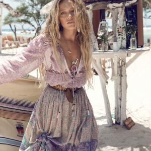 La robe longue hippie chic - milles idées comment l'adopter