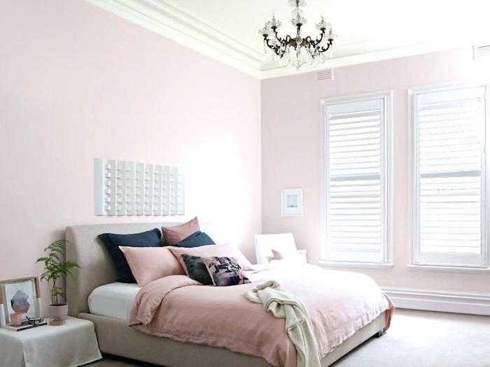 1001 photos et id es pour trouver la couleur id ale pour chambre adulte. Black Bedroom Furniture Sets. Home Design Ideas