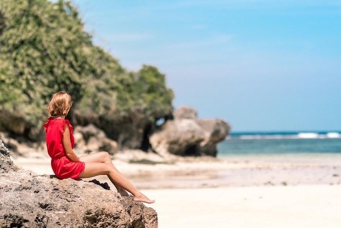 Robe fluide habillée comment s'habiller aujourd hui été collection robe rouge robe courte de plage
