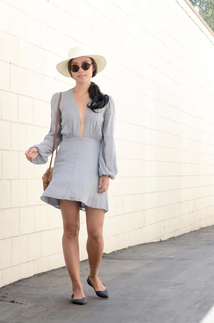Robe courte moulante robe légère été femme s'habiller bien robe chic