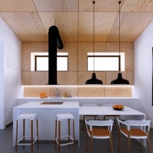 La cuisine en bois - 130 astuces et idées comment l'aménager