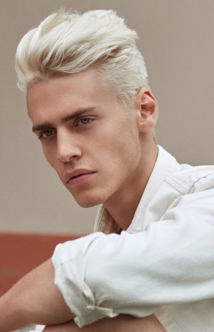 teinture cheveux blancs homme cheveux blanc fantastique teinture cheveux blancs homme fashion. Black Bedroom Furniture Sets. Home Design Ideas