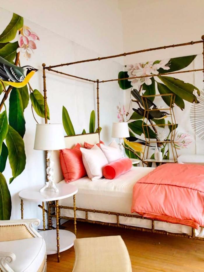 Chambre parentale moderne couleur peinture chambre déco moderne intérieur