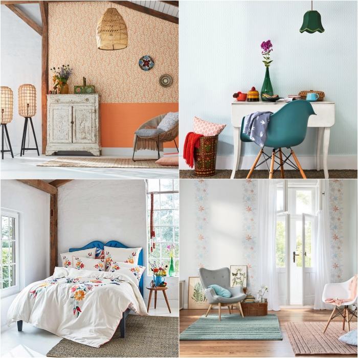décorer son appartement en mode vacances grâce à des motifs d'été et des teintes ensoleillées adoptés à travers les textiles et les accessoires de maison