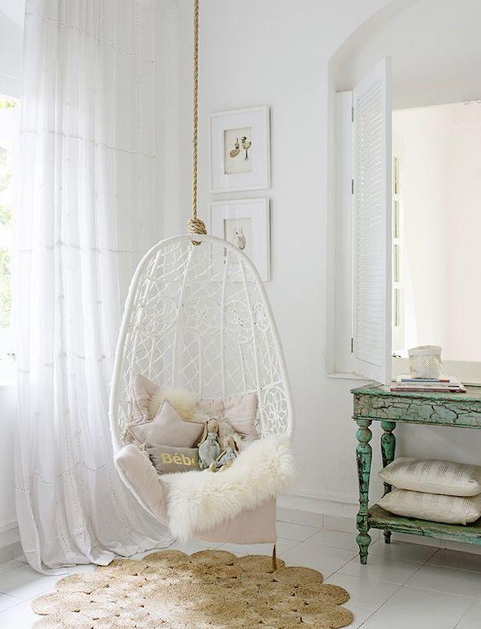 Bébé chambre balançoire vieux rose couleur chambre rose et blanc deco gris et rose ma chambre