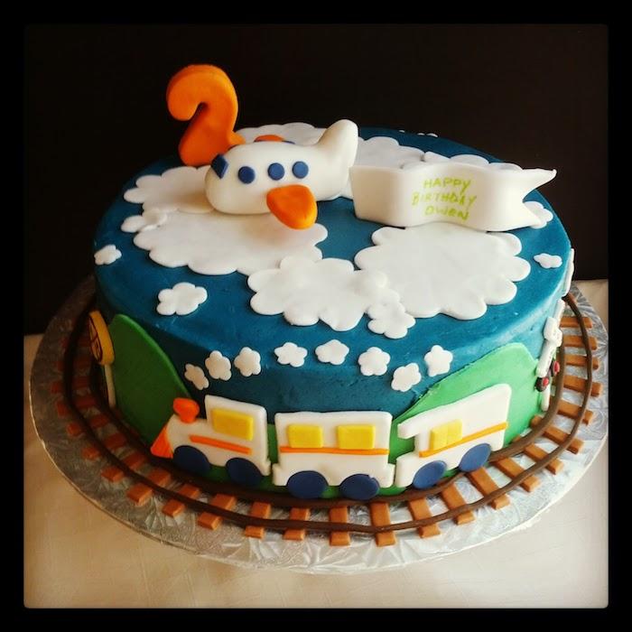 Gâteau pour enfant cool idée de design de gâteaux d'anniversaire pour enfant airplane