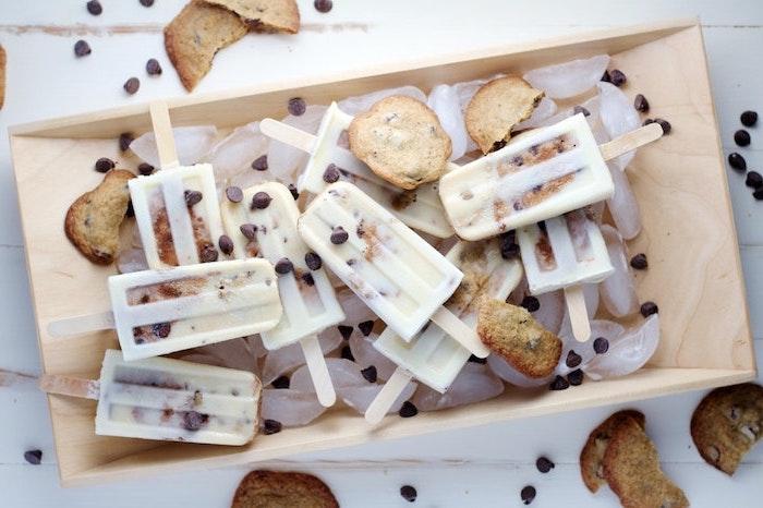 Glace a la vanille sorbet sans sorbetière comment faire un sorbet manger sain la plus simple idée biscuits et lait glacé