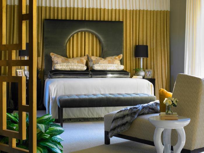 Coucher de soleil couleurs dorés chambre jaune couleur idéale pour chambre adulte association couleurs