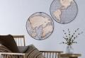 Magnifique décoration murale en fer design – 68 créations en métal pour chaque goût