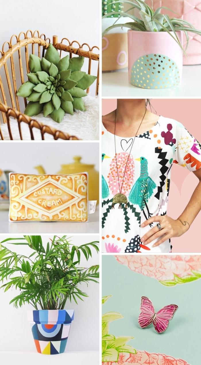 activités manuelles enfants, idées loisirs créatifs adultes, objets décoratifs à faire soi-même, pot à fleurs personnalisé
