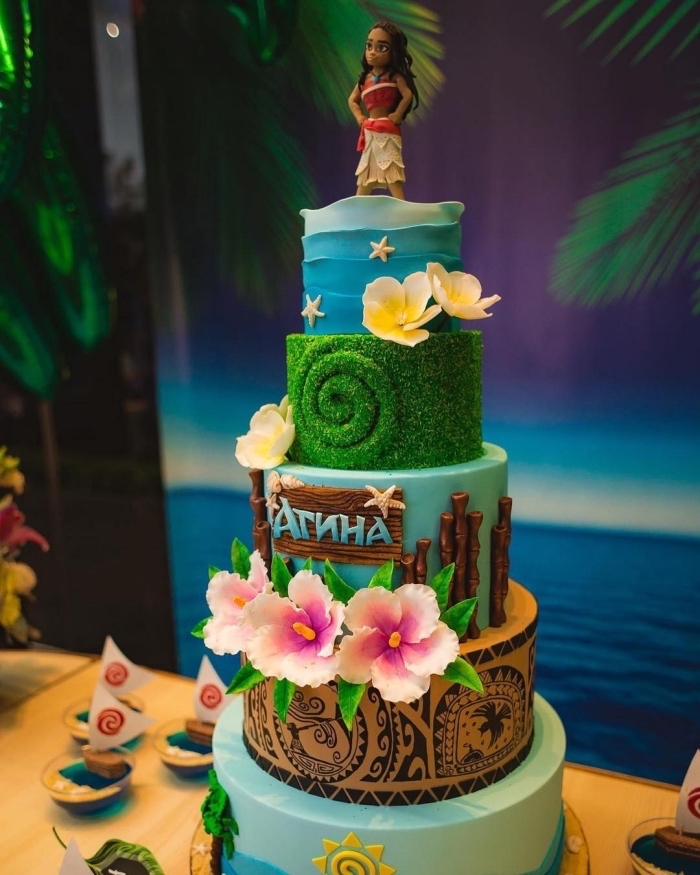 Gateau decor vaiana