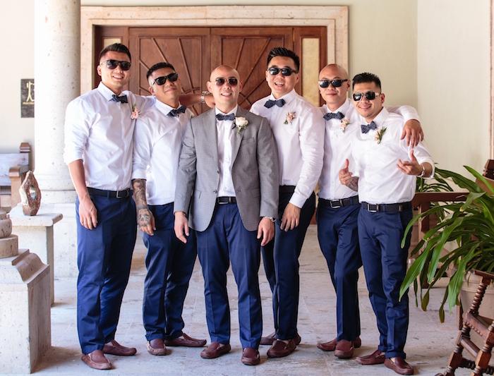 modele tenue de mariage similaire chic décontractée pour témoins invités homme