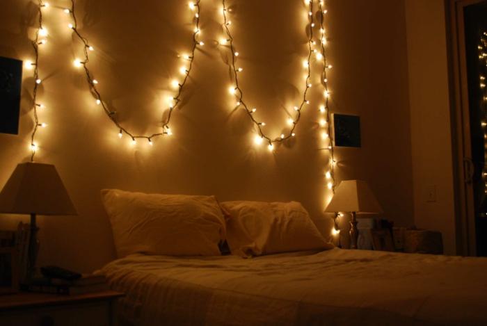 ▷ 1001 + Idées pour une guirlande lumineuse pour chambre + déco ...