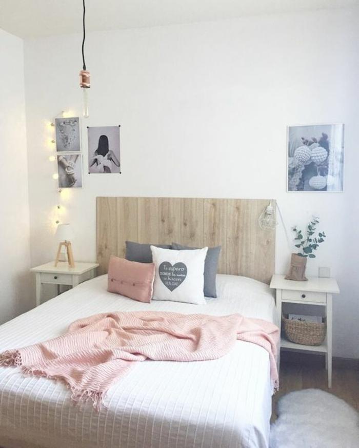 Chambre rose poudré – comment l\'aménager? 107 suggestions – OBSiGeN