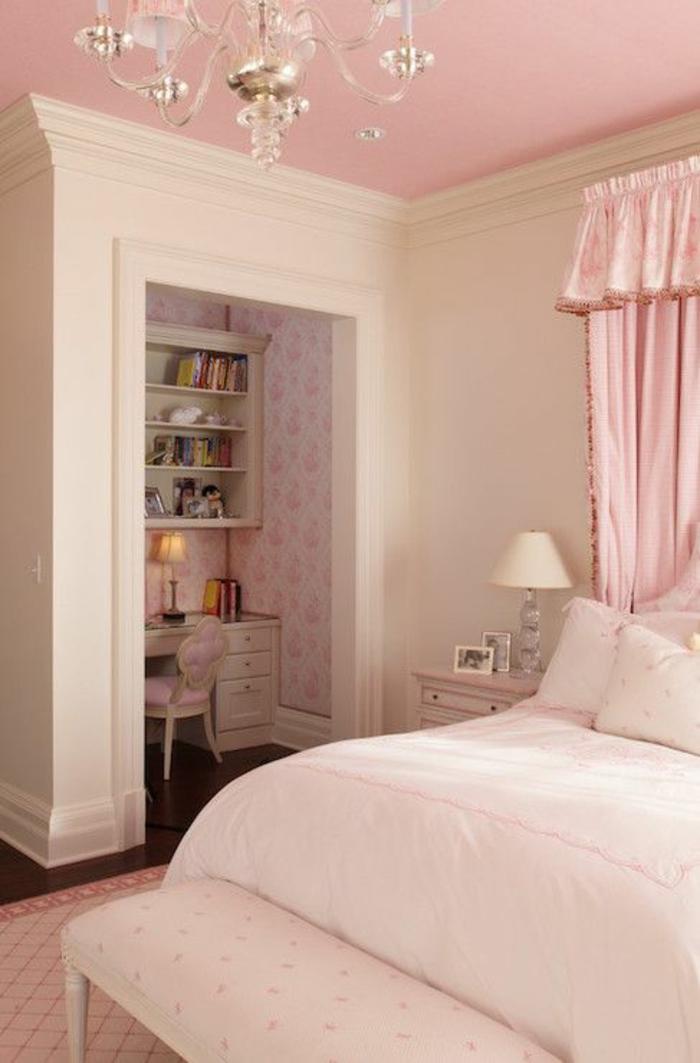 Chambre Rose Poudré : Idées pour une chambre rose poudré les intérieurs