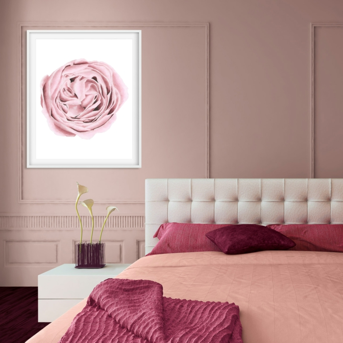 Chambre Rose Poudré : Chambre rose poudré comment l aménager suggestions